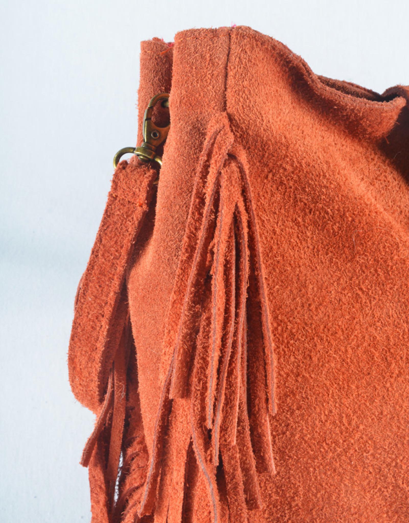 Boho bag side straps