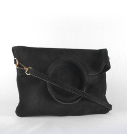 Double trouble suede black