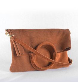 Double trouble suede camel