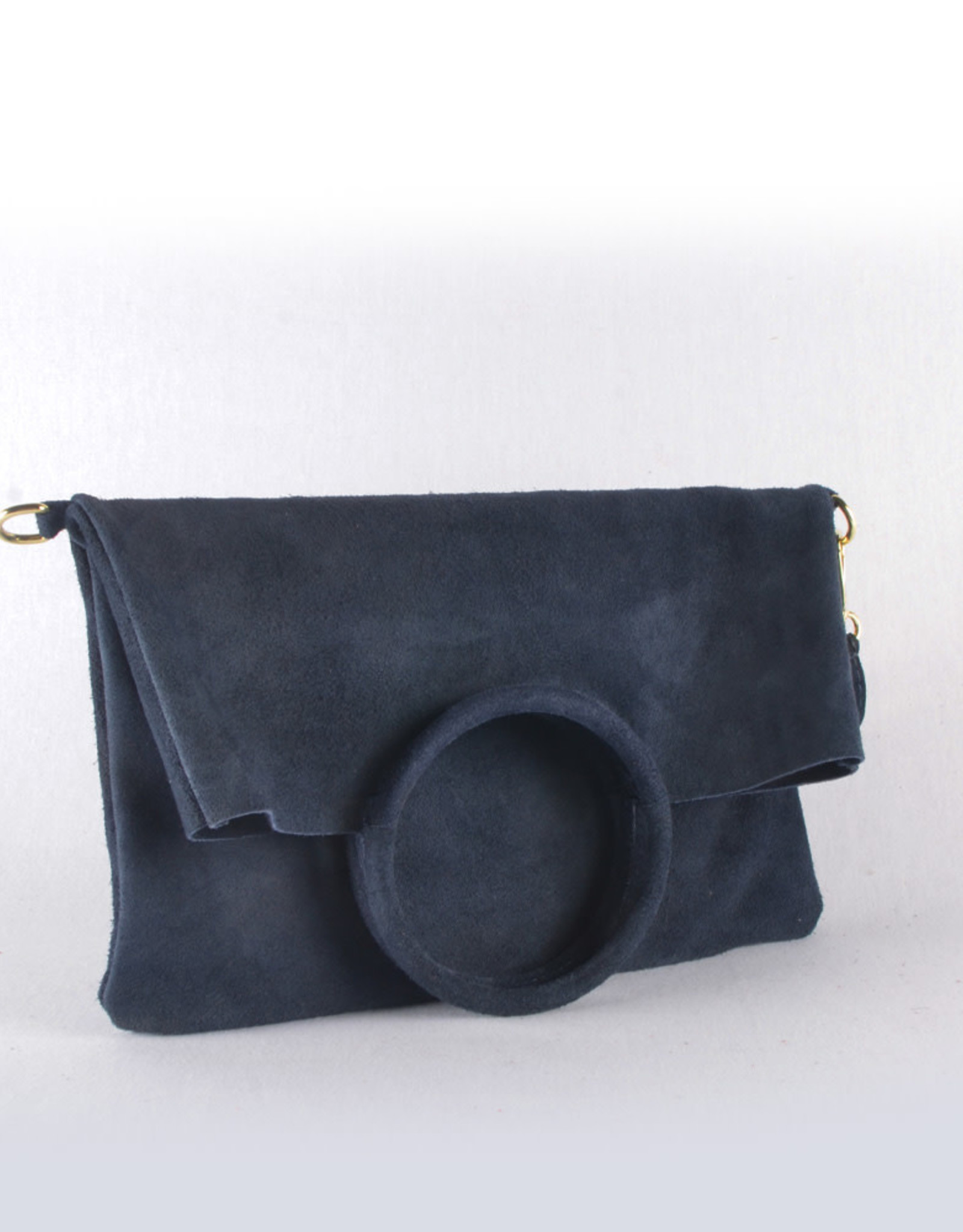 Double trouble suede navy