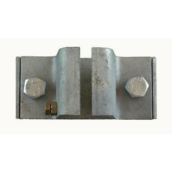 Railhouder verzinkt 3-delig 40 mm