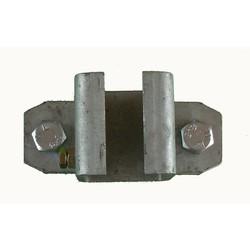 Railhouder verzinkt 1-delig 40 mm
