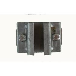 Railhouder verzinkt 1-delig 32 mm
