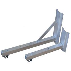 Wandhouder aluminium 750 mm
