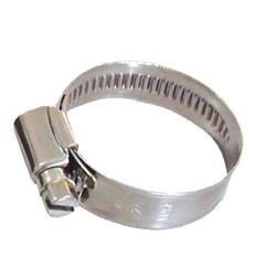 Slangklem 9,5 mm (9,5-12 mm) RVS