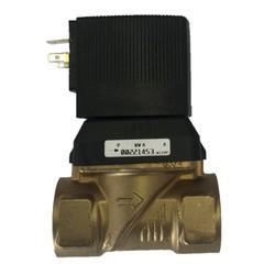 """Magneetventiel 3/4"""" compleet met spoel 24VDC"""