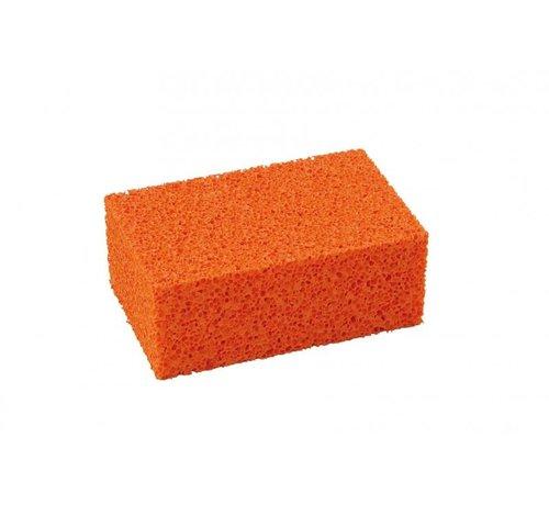 Super Prof Blok-schuurspons - Super Prof - grof 170x110x65 mm kleur rood