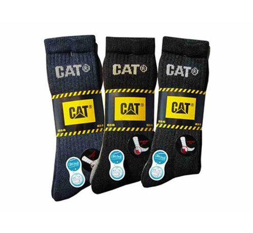 Cat CAT sokken Outdoor zwart/grijs maat 41-45 bundel 3 paar