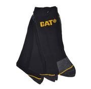 Cat CAT Worker werksokken zwart maat 41-45 bundel 3 paar