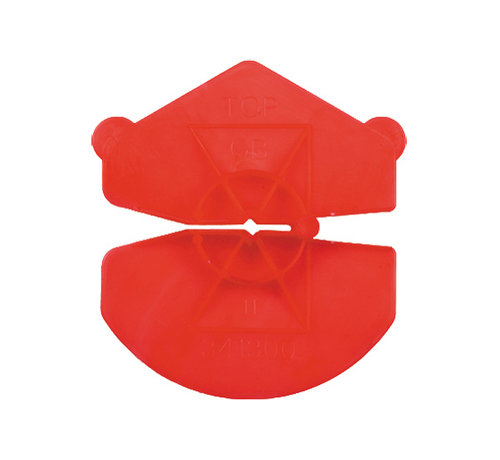 GB GB UNI-clip rood voor spouwankers 3,2-4,5mm 1000 stuks