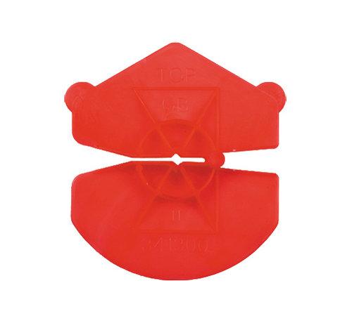 GB GB UNI-clip rood voor spouwankers 3,2-4,5mm 200 stuks