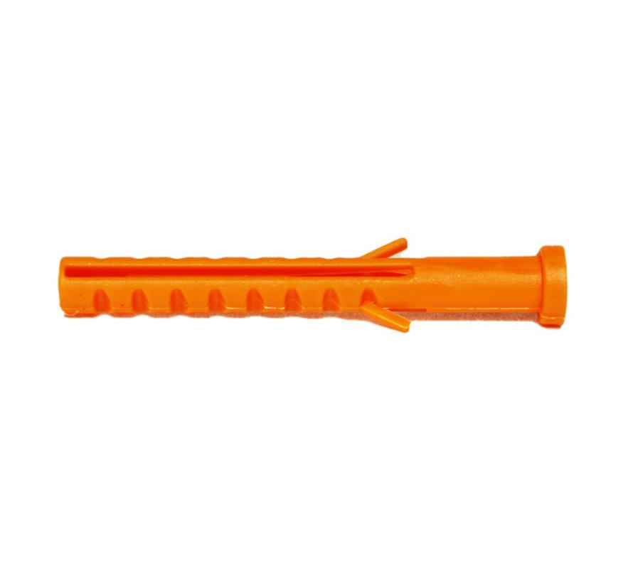 GB kraagpluggen nylon 6x50 voor inslagspouwankers 250 stuks