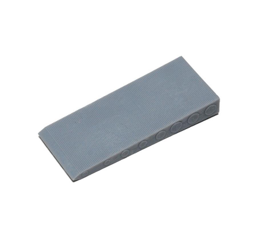 GB kunststof stelwig grijs 70x30x10mm grijs 100 stuks