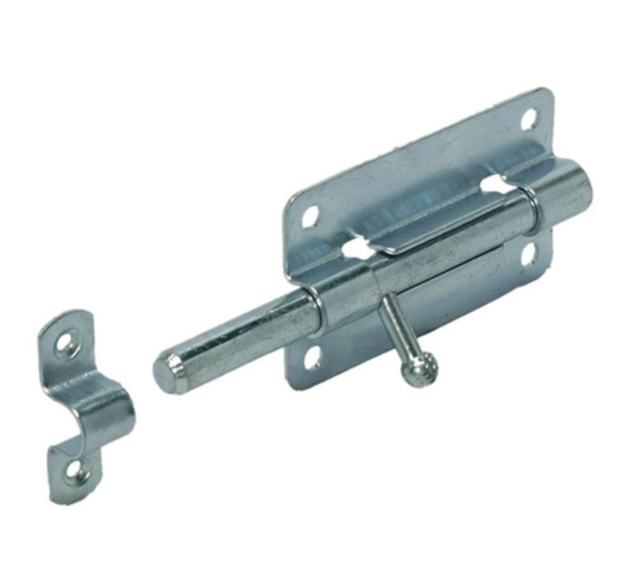 GB plaatgrendel verzinkt 80mm