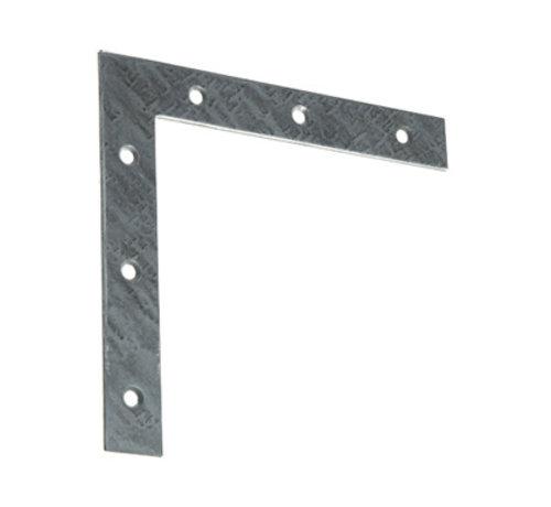 GB GB raamhoek recht 60x60 / 10x1.5 mm gegalvaniseerd