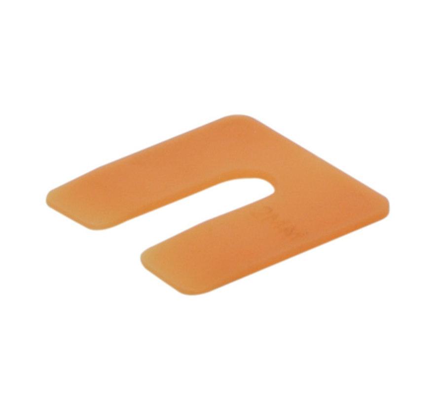 GB uitvulplaatjes 2 mm oranje doos 240 stuks
