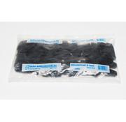 GB uitvulplaatjes 3 mm zwart zak 48 stuks