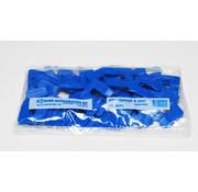 GB GB uitvulplaatjes 4 mm blauw zak 48 stuks