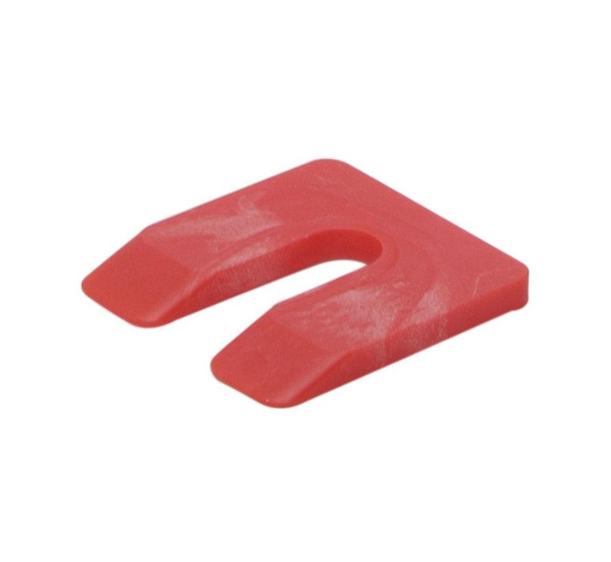 GB uitvulplaatjes 5 mm rood doos 144 stuks
