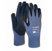M-Safe Handschoen M-Safe Nitrile Microfoam 14-690 zwarte super lichte nitril foam coating maat 10 / XL
