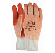Handschoen Prevent R-903 rode palm met latex coating maat 10/XL