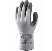Showa Handschoen Showa 451 Thermo grijs met donker grijs geruwde latex coating palm maat 9 / L