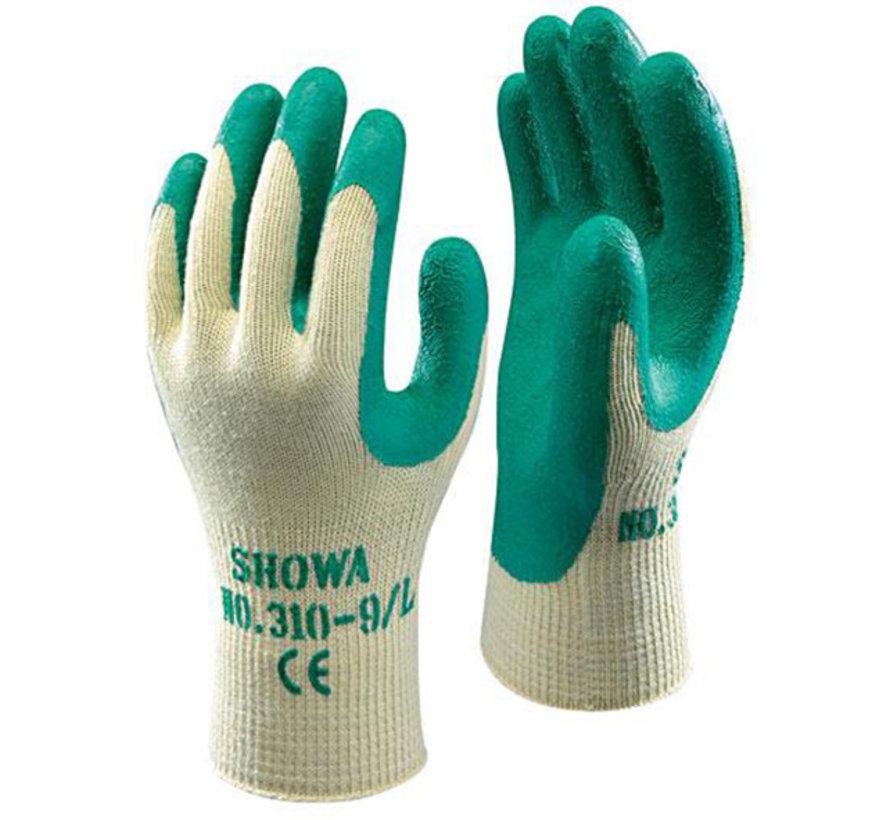 Handschoen Showa Grip 310 groen maat 9 / L