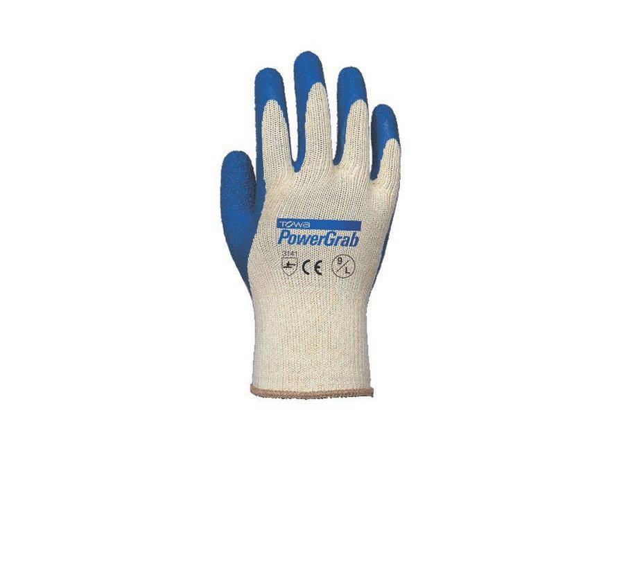 Handschoen TOWA PowerGrab Latex Antislip Coating maat 9 / L