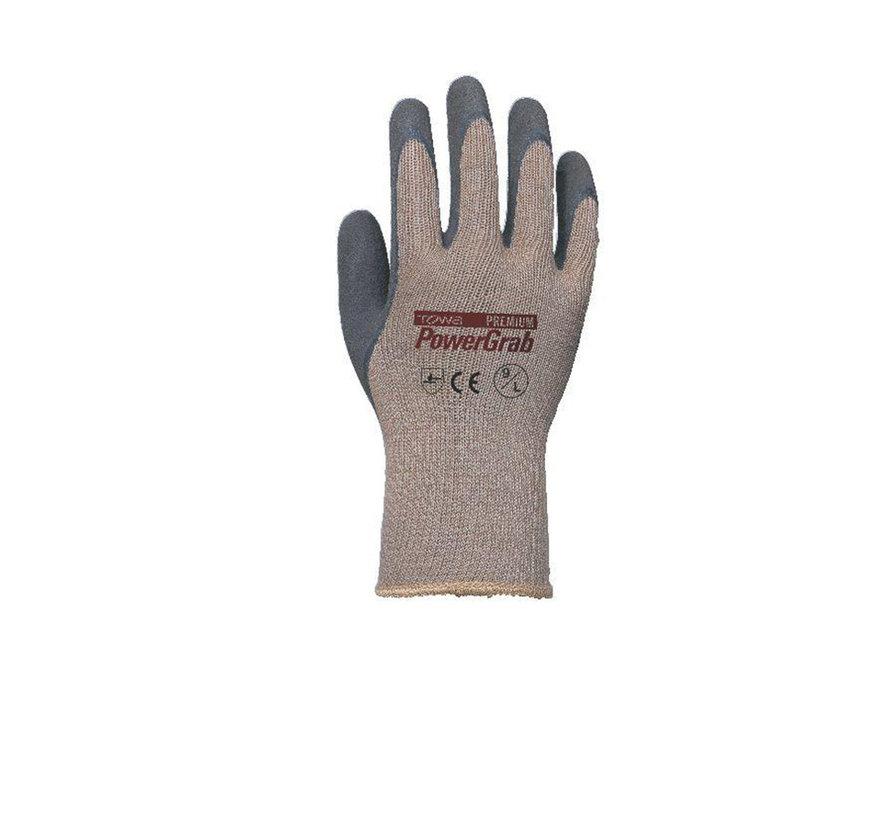Handschoen TOWA PowerGrab Premium Microfinish Latex Coating maat 9 / L