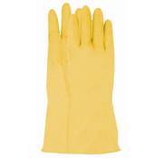 Handschoen huishoud latex geel maat 10 / XL