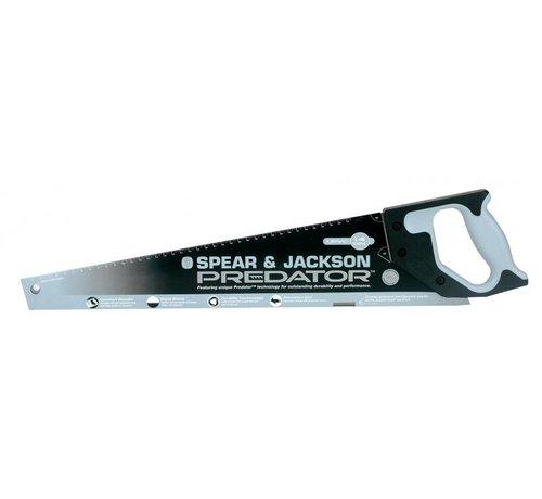 Spear & Jackson Handzaag SPEAR & JACKSON Predator 500 mm HP met Softgreep (pvc/hard plastic) 14PPI