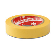 Kip Kip 308 FineLine tape Washi-Tec 19mm rol 50m Geel