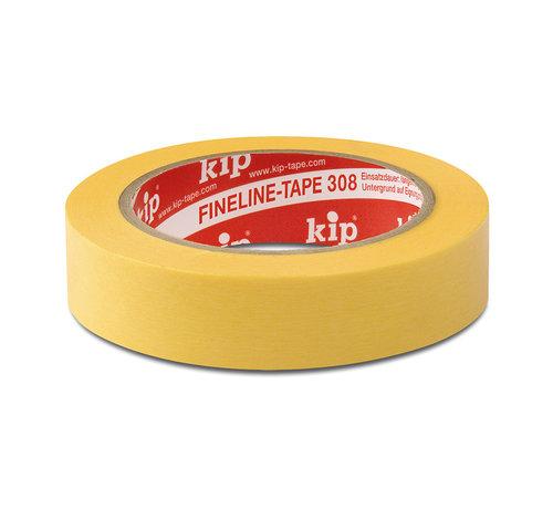 Kip Kip 308 Fineline Tape Washi-Tec 38mm rol 50m Geel