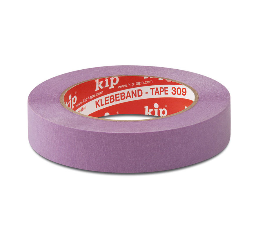 Kip 309 Masking Tape Washi-Tec 24mm rol 50m Lila