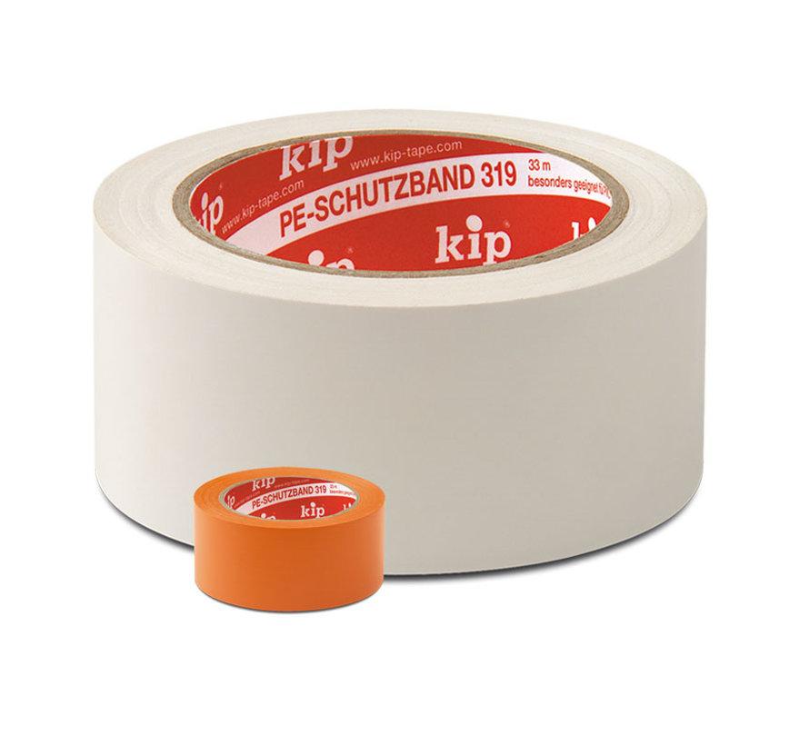 Kip 319 PE-Masking Tape 50mm rol 33m Oranje