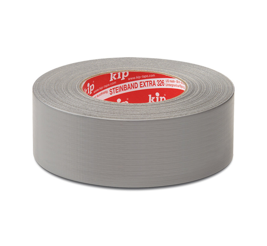 Kip 326 Steenband 48mm professionele topkwaliteit rol 50m Zilver