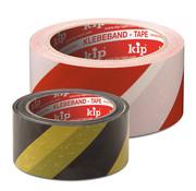 Kip Kip 339 PVC-Markeringstape GEEL/ZWART 50mm x 66m