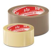 Kip Kip 339-10 PVC-Verpakkingstape standaard kwaliteit transparant 50mm x 66m