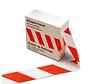 Kip 391 Afzetband 80mm x 500m rood-wit
