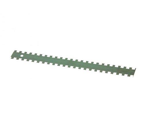 Lijmmessen 4x4x4 mm lengte 280mm per 3 stuks