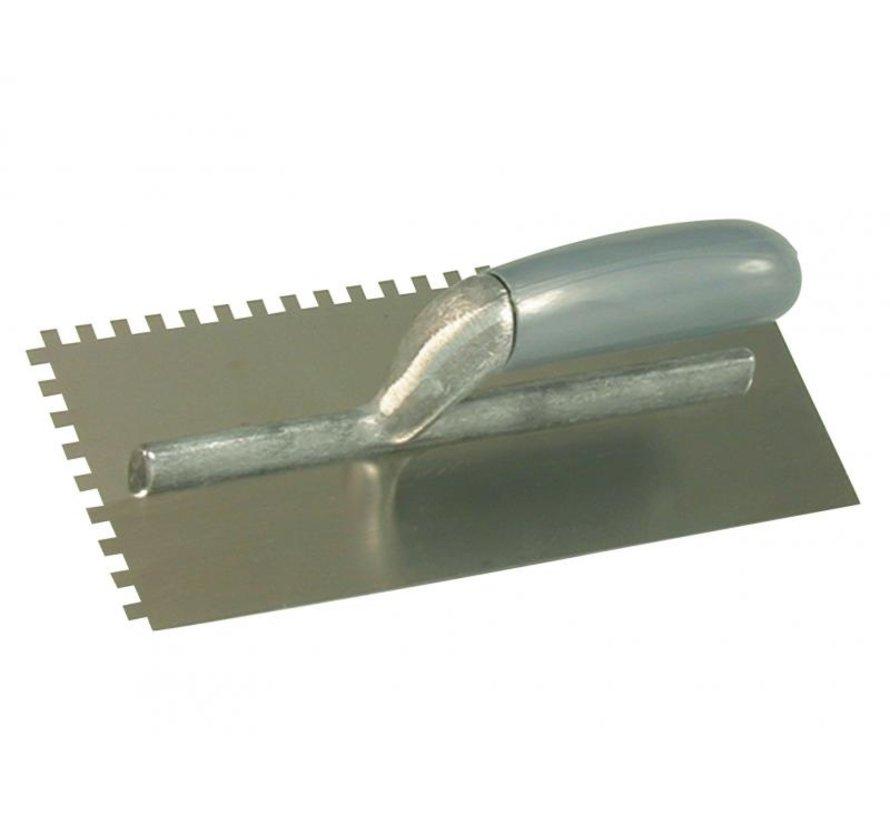 Lijmspaan - Super Prof Eco - 280x120 mm RVS 4x4 mm
