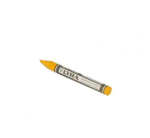Merkkrijt LYRA geel 120x12 mm