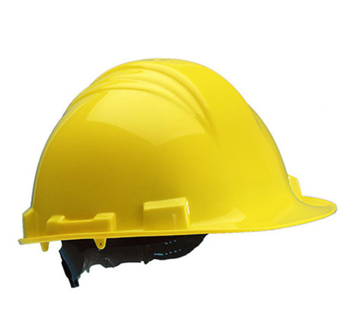 M-Safe M-Safe veiligheidshelm MH6000 geel PE 6-punts