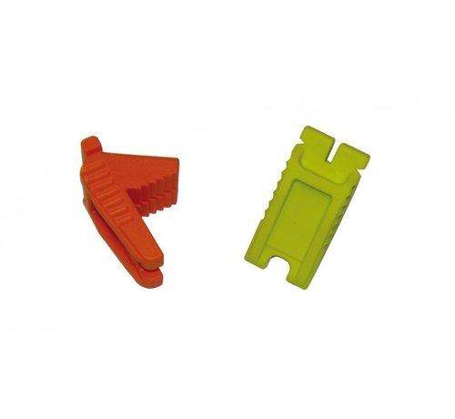 Spear & Jackson Opspanblokje rubber Spear & Jackson, per stuk