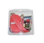 Sjorband 35mm 2-delig met ratel en spitshaken LC1000/2000 6 mtr. per stuk