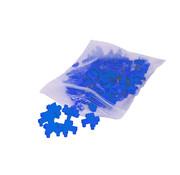 Tegelkruisjes multi 4 + 5 mm zak a 100 stuks blauw