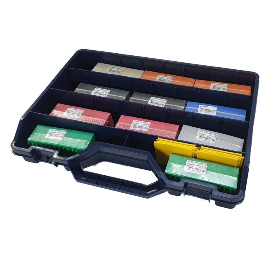 GB assortimentskoffer uitvulplaatjes met stelpootjes
