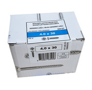 Fis-Fix Fis spaanplaatschroef 4.0x30 VK PZD verzinkt 200 stuks
