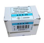 Fis-Fix Fis spaanplaatschroef 4.0x35 VK PZD verzinkt 200 stuks