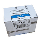 Fis-Fix Fis spaanplaatschroef 4.0x40 VK PZD verzinkt 200 stuks